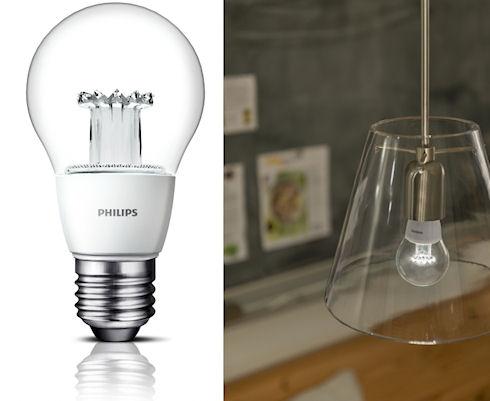 Новый дизайн светодиодных ламп Philips