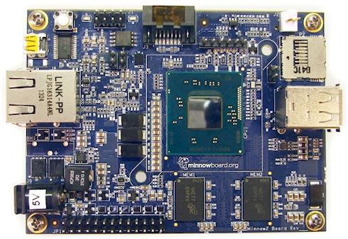 Открытая компьютерная платформа MinnowBoard от Intel по цене 99 долларов