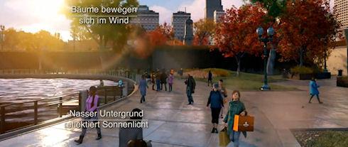 Ubisoft показала геймерам погодные эффекты из Watch Dogs