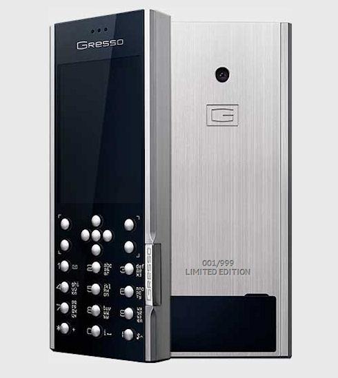 Двухсимочный люксовый телефон Gresso Azimuth за 60 тыс. рублей