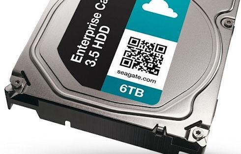 Seagate выпустит скоростные 6-терабайтные накопители