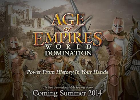 Летом запланирован выход Age of Empires: World Domination для iOS, Android и Windows Phone