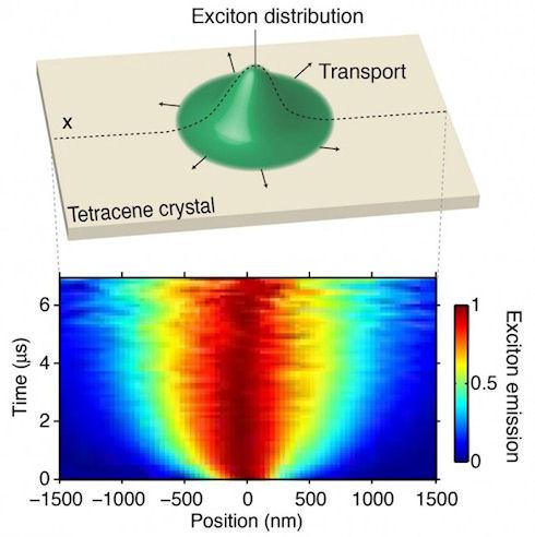 Ученым удалось увидеть «движение» экситонов