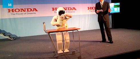 Honda показала новую модель робота Asimo