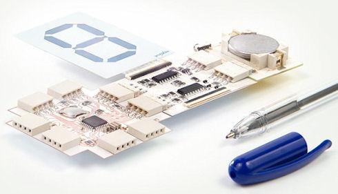 Printoo – гибкая электронная платформа на базе Arduino