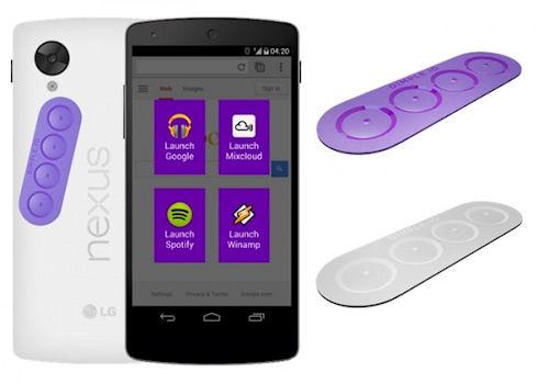Dimple – клавишный стикер для NFC