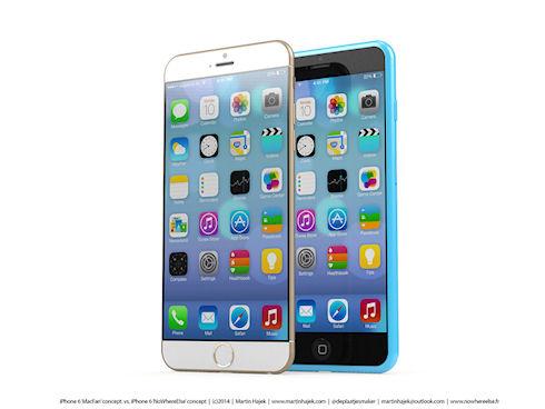 Новые дизайнерские концепты iPhone 6s и iPhone 6c