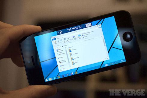 Microsoft выпустила приложение Remote Desktop для Windows Phone