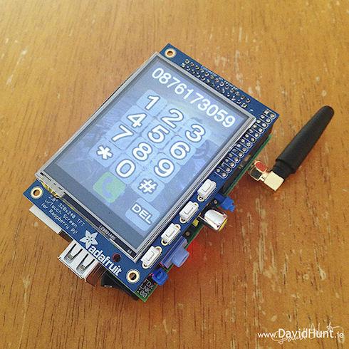 PiPhone – смартфон на базе мини-компьютера Raspberry Pi