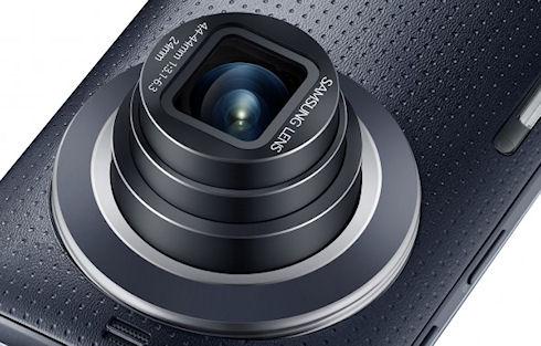 Galaxy K Zoom – камерофон с шестиядерным процессором и Android 4.4 KitKat