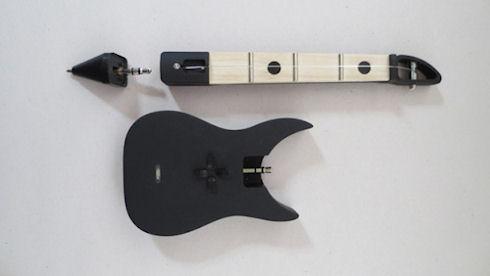 FretPen – ручка-гитара с iPhone в качестве усилителя звука