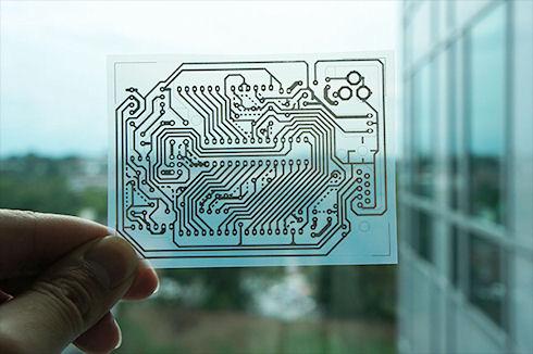 Microsoft продемонстрировала технологию создания печатных плат на струйном принтере