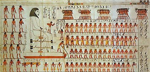 Египтяне передвигали каменные блоки по мокрому песку