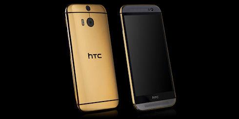 Goldgenie предлагает золотой HTC One M8 за 2500 долларов