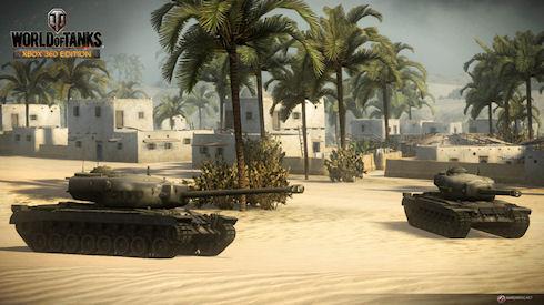 Обновление World of Tanks для Xbox