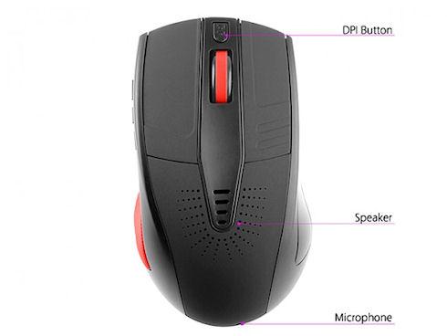 Bluetooth Speaking Mouse – мышь с функцией хэндсфри