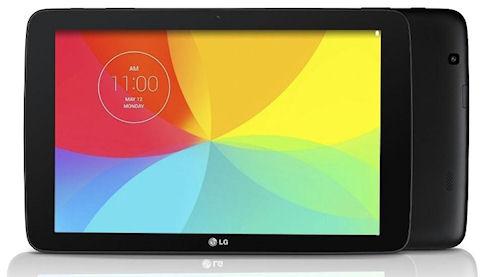 LG выпустит три новых планшета G Pad