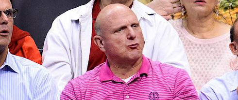 Стив Балмер купил баскетбольный клуб Лос-Анджелес Клипперс