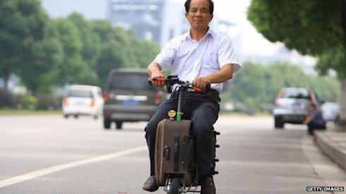 City Cab – чемодан для веще и пассажиров