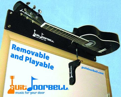 GuitDoorbell – гитара вместо дверного звонка