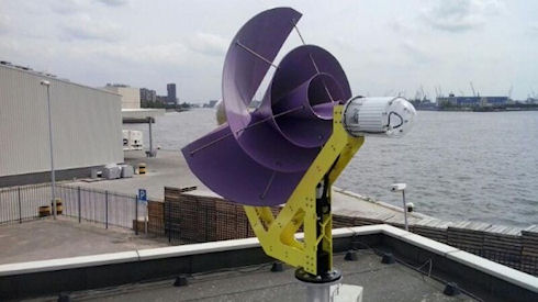 Liam F1 Urban Wind Turbine – ветряк с КПД 80%