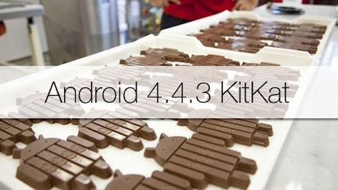 Android 4.4.3 – новая версия «шоколадки» KitKat от Google