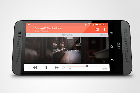 HTC One M8 – флагман в пластиковом корпусе