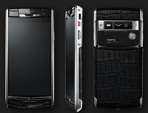 Мукег Signature Touch – титановый Android за 8 тыс. долларов