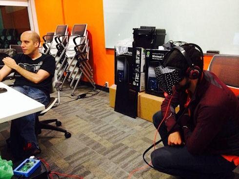 Valve продемонстрировала прототип шлема виртуальной реальности