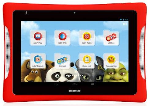 DreamTab 8 – мультяшный Android-планшет