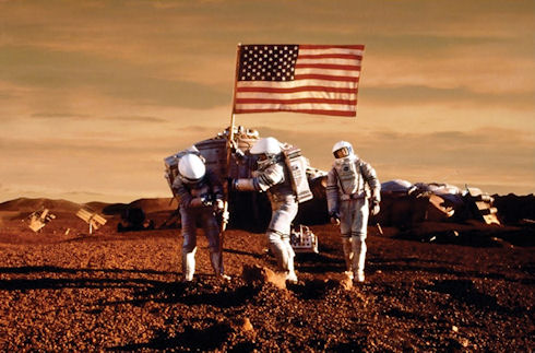 США придется объединиться с Россией и Китаем для отправки космонавтов на Марс