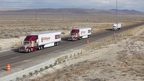 PelotonTech продемонстрировала систему автономного управления грузовиком