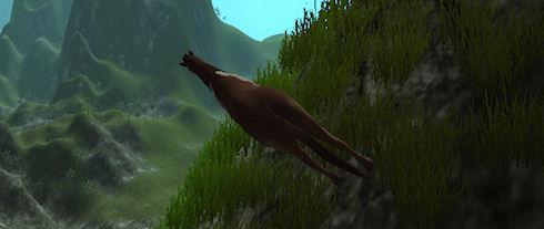 Cliffhorse – виртуальная лошадь от создателя Minecraft