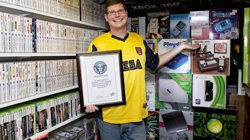 Рекордная коллекция видеоигр продается на аукционе