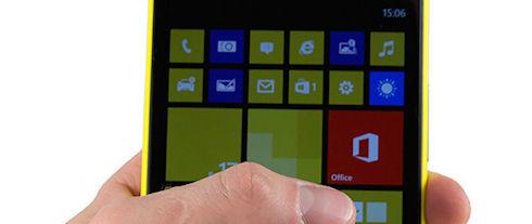 Смартфон Microsoft получит управление жестами