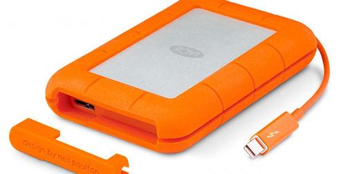 LaCie Rugged — HDD и SSD-накопители для PC и Mac