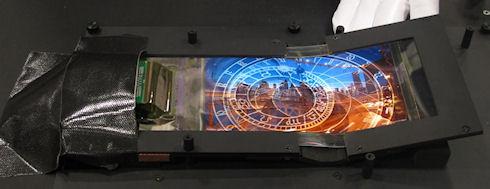 NOKIA показала гибкие OLED-дисплеи на органических светодиодах