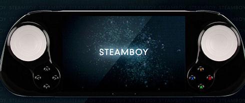 SteamBoy – игровая консоль для компьютерных игр
