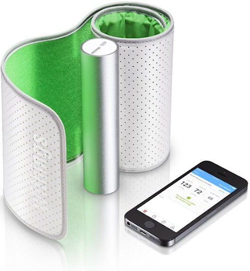 Withings Blood Pressure Monitor – тонометр с беспроводным интерфейсом