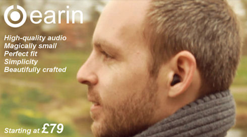 Earin – самые маленькие Bluetooth-наушники в мире