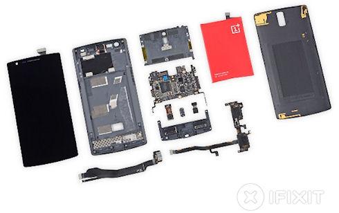 iFixit поставили пятерку китайскому смартфону OnePlus One