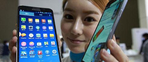 Покупатели предпочитают смартфоны и планшеты с большими дисплеями