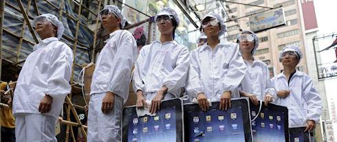 Foxconn нанимает 100 тыс. сотрудников для сборки iPhone 6