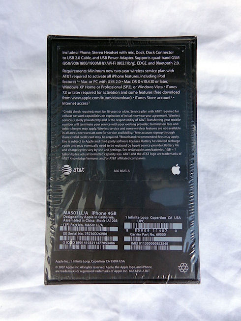 Первый iPhone в упаковке продается на eBay за 15 тыс. долларов