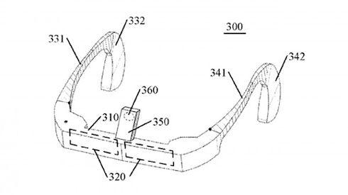 Lenovo получит патент на очки виртуальной реальности