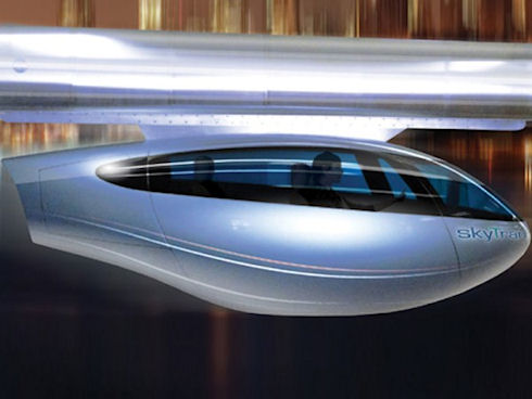 В Израиле запустят городской транспорт SkyTran