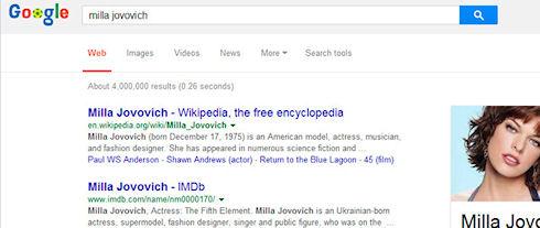 Google предупреждает пользователей о нерелевантной поисковой выдаче