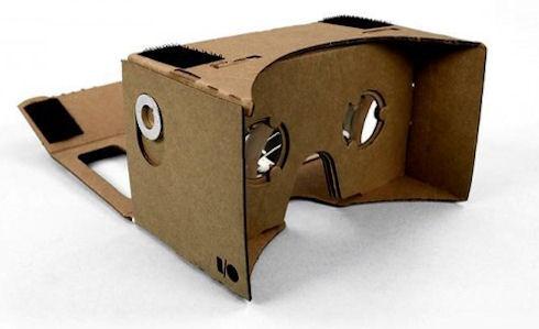 Cardboard – виртуальный игровой шлем от Google