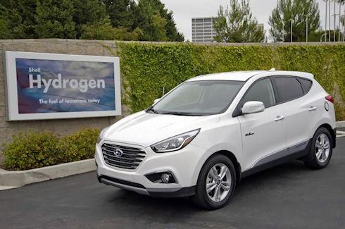 Hyundai продала первый водородный Tucson Fuel Cell