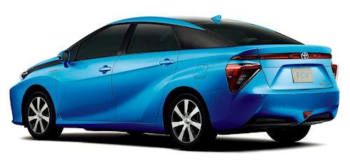 Продажи водородных автомобилей Toyota стартуют в 2015 году
